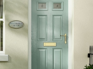 green-composite-door