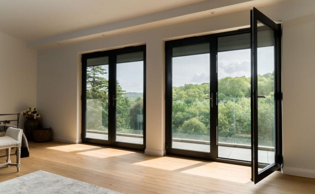 Aluminium French Doors Devon Windows Doors Aluminium